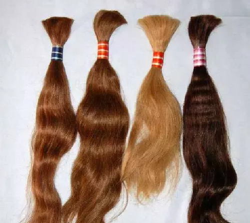 Virgin Colored Human Hair Extensions