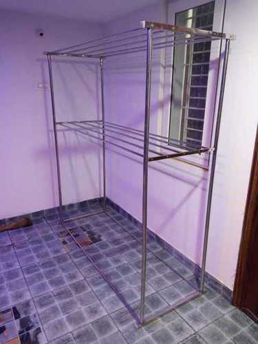 Cloth Foldable SS Rack In Vellore