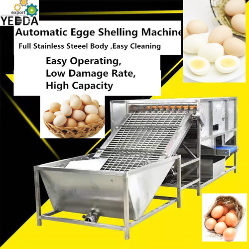 Esl-2000 Cooked Egg Shelling Machine_