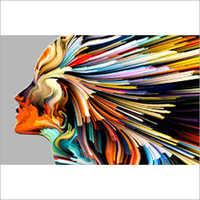 Digital Print Colored Glass