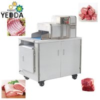 Frozen Meat Ribs Cube Cutting Machine