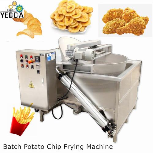 Batch Potato Chip Frying Machine
