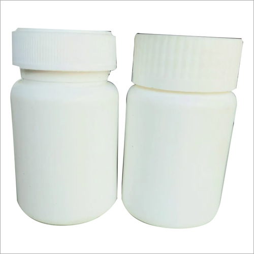White Pharma Plastic Jar Bottle