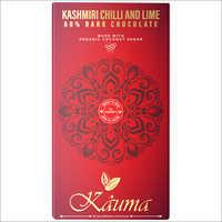 Kashmiri Chilli and Lime Dark Chocolate