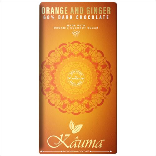 Orange and Ginger Dark Chocolate