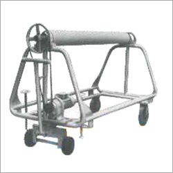 A Frame Trolley With Motorised Drive System