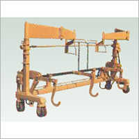 Double Warp Beam Loading Trolley With Heald Frame