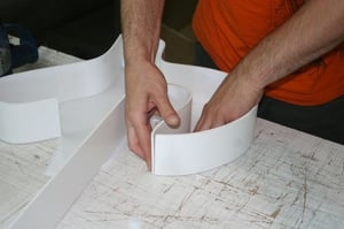 Acrylic 3D Raising Letter