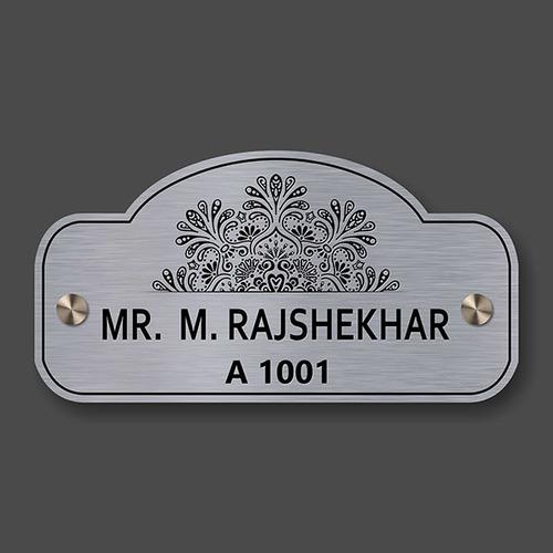 Steel Name Plates