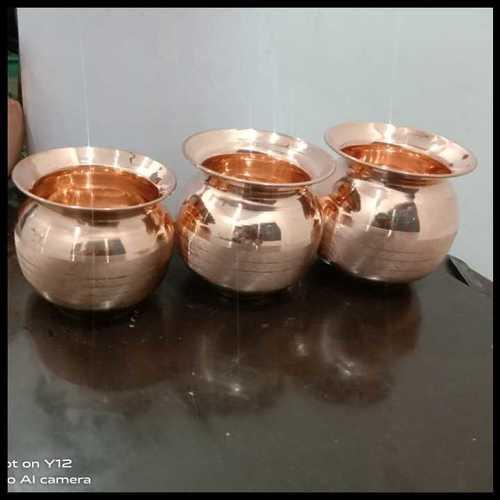 Copper Puja Lota