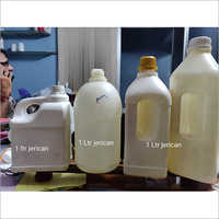 1 Ltr White Plastic Jerry Can Bottle