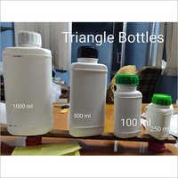 White Plastic Pharmaceutical Bottle