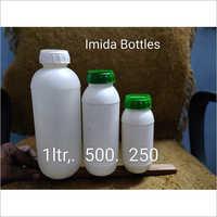 White Plastic Imida Bottle