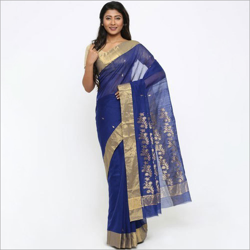 Ladies Havi Pallu Chanderi Saree