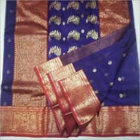 Ladies Designer Chanderi Silk Saree