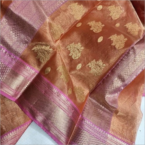 Ladies Silk Zari Border Saree