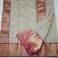 Ladies Chanderi Silk Cotton Saree