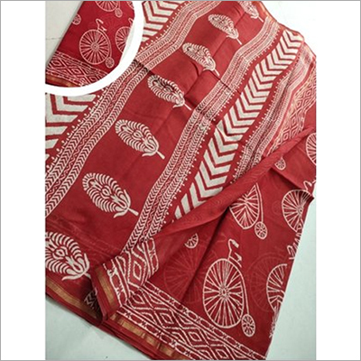 Ladies Fancy Kalamkari Saree