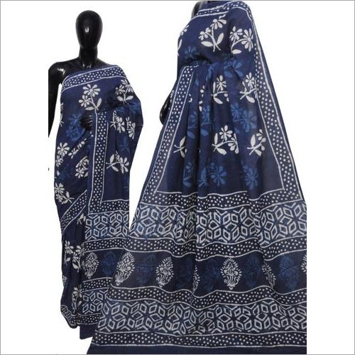 Ladies Trendy Shibori Buta Printed Saree