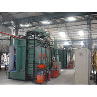 Cartridge Type Powder Coating Conveyorised Booth with Recycling System