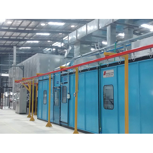 Liquid Painting Line by Intech