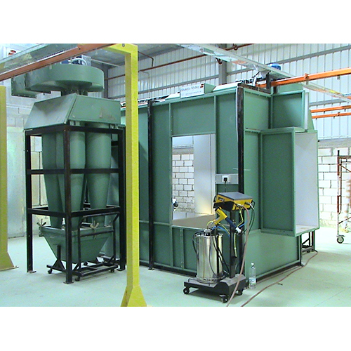 Powder Coating Booth With Cycn Recovery