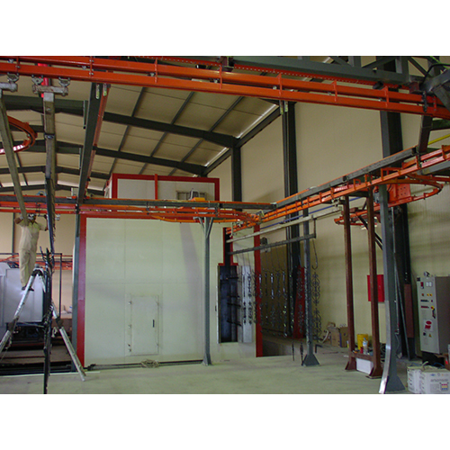 Power And Free Conveyer For Powder Coating Plant