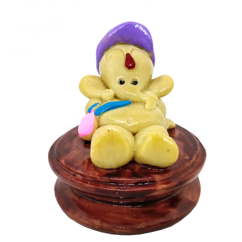 Lord Ganesh Idol Stone For Decoration