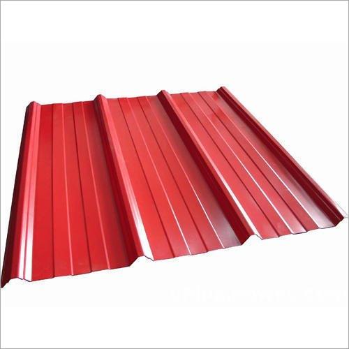 Galvanised Colour Coated Corrugated Sheet