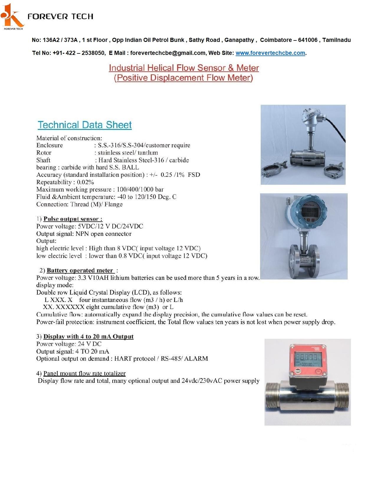Chemical Flowmeter