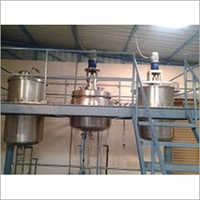 Industrial Aloevera Gel and Juice Plant