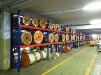 Cable Drum Storage Rack