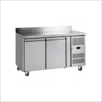 Two Door Under Counter Freezer With Wheel