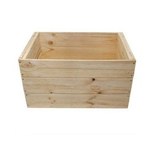 Open Wooden Crate