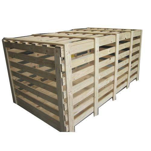 Large Wooden Packing Crate
