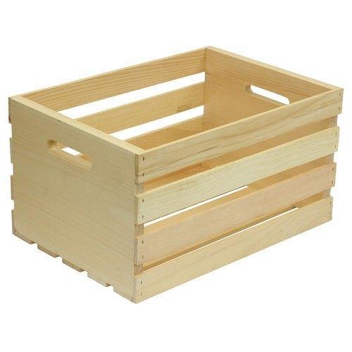 Industrial Wooden Storage Crate