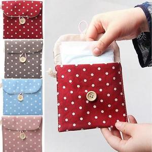 Women's Printed Sanitary Pad Pouch