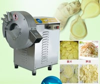 YD-503 Ginger Slicing Machine Ginger Bamboo Shred Cutting Machine