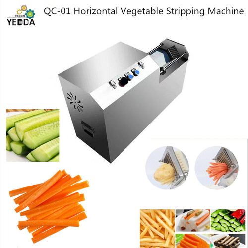 QC-01 Horizontal Carrot Long Strip Cutting Machine