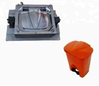 Plastic Pedal Dustbin Mould