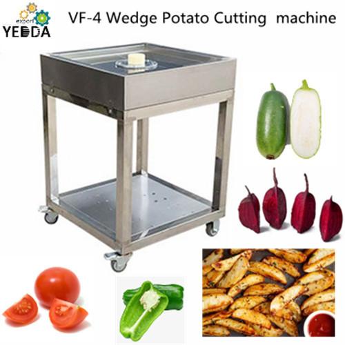 VF-4 Wedge Potato Cutting Machine Carrot Cucumber Separating Machine