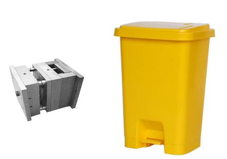 Plastic Trash Bin Mould