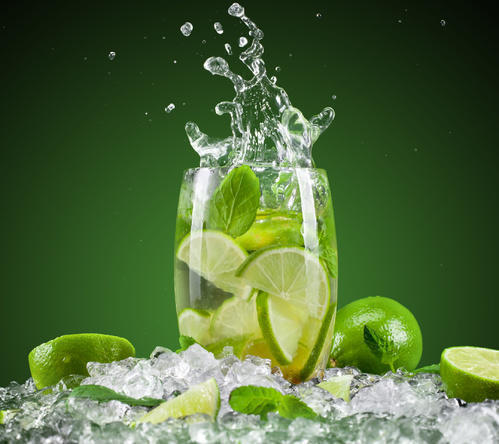 Clear Lemon Soft Drink Concentrate