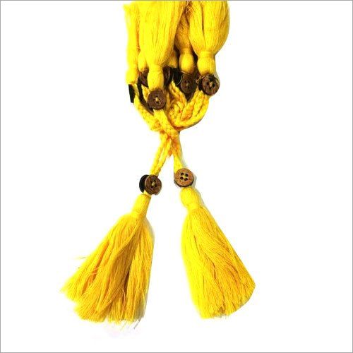 Cotton Tassels With Button