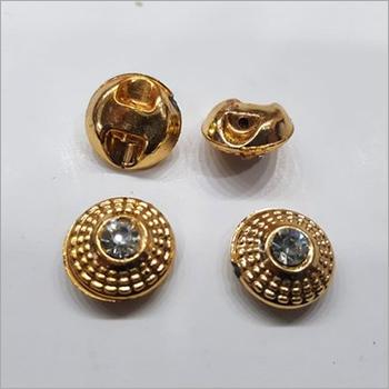 Plastic Button With Diamond