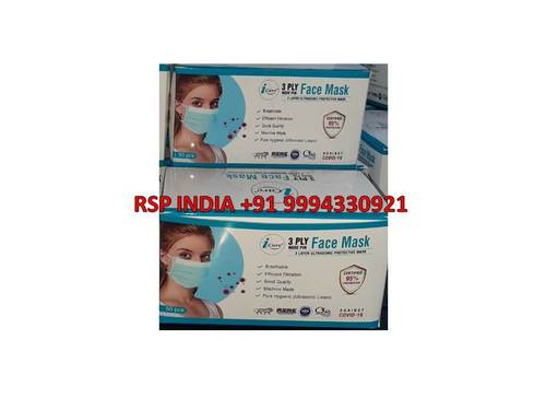 3ply Nose Pin Face Mask