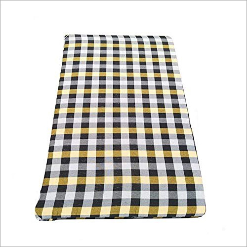 Check Cotton Zipper Mattress Cover