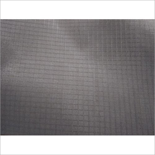 Grey Ripstop Fabric