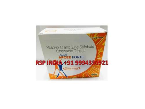Apcee Forte Tablets Orange Flavour