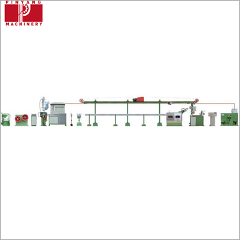 Automatic Jacketing Cable Extruder Machine